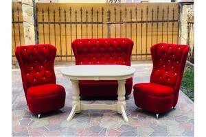 Шикарные диваны Swarovski!Столы деревянные в ассортименте Торг