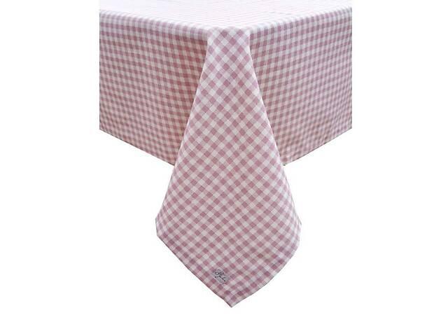 Скатерть Прованс Bella Розовая клеточка 85х85 см- объявление о продаже  в Херсоне
