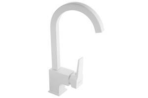 Смеситель кухонный NEWARC Aqua 941881W Белый (3621)