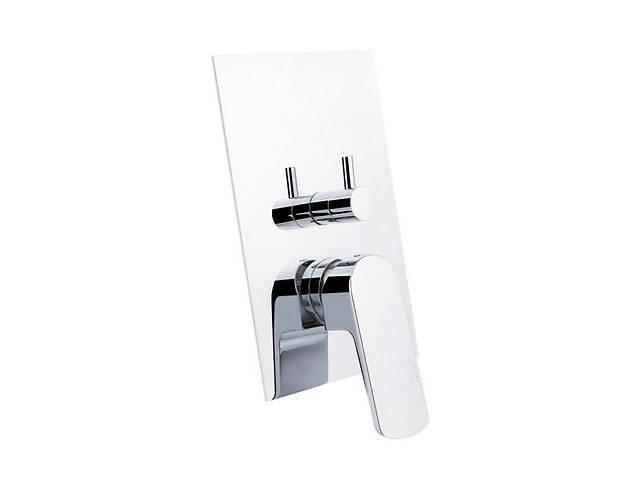 купить бу Смеситель скрытого монтажа для ванны Bianchi Fly INDFLY2304073CRM на три потребителя в Киеве