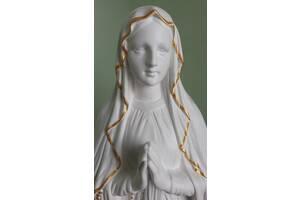Статуя скульптура Марії Богородиці з високоякісного білого бетону