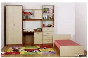 Стенка в детскую комнату + кровать СТК 17