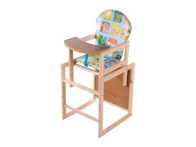бу Стілець стіл для годування деревяний. НАЛОЖКА в Рівному