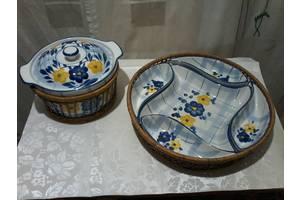 Супница с фигурными тарелками