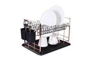 Сушилка для посуды Berlinger Haus Black Rose Collection BH-6774 48х32х29 см