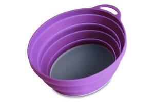Тарілка Lifeventure Silicone Ellipse Bowl Purple (1012-75515)