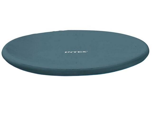 продам Тент для надувного круглого бассейна диаметром 457 см Intex 28023 Синий (gr_016893) бу в Киеве
