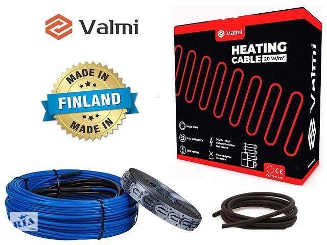 продам Тепла підлога Valmi 4 м²- 5 м² / 800 Вт (40м) тонкий двожильний нагрівальний кабель 20Вт/м під плитку бу в Києві