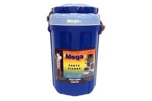 Термобокс MEGA 4. 8 л синий (717040156184BLUE)