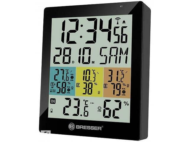 бу Термометр-гигрометр Bresser Temeo Hygro Quadro DLX 925519 в Киеве