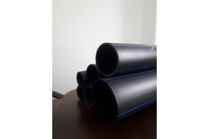 Труба пластикова поліетиленова водопровідна ПЕ-100 (ПЕ-100) SDR 26, 21, 17, 11 завод виробництво в Україні