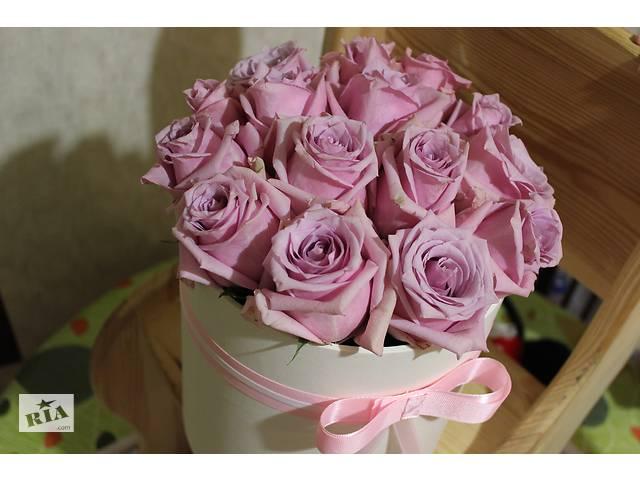 бу Цветы в шляпной коробке. Flowers in box в Киеве