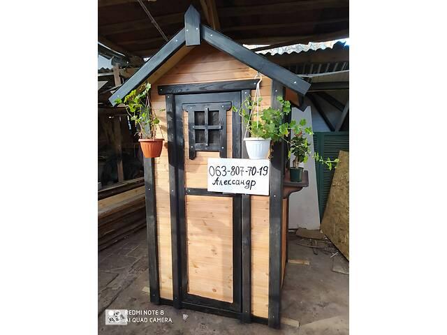 Туалет Класичний дачний з дерева (для дачі, вуличний)- объявление о продаже  в Житомирі