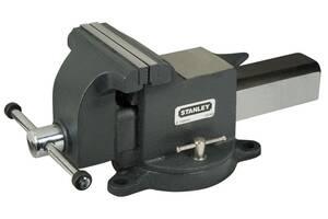 """Тиски слесарные поворотные 125 мм для больших нагрузок """"MAXSTEEL"""" STANLEY 1-83-067"""