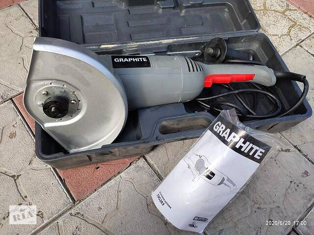 Угловая шлифовальная машина (болгарка) Graphite 2300W