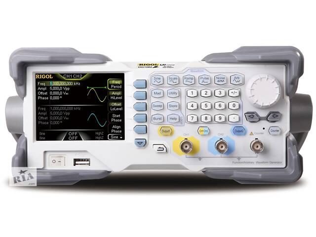 купить бу Универсальный генератор сигналов Rigol DG1022Z (2 канала, 1 мкГц...25 МГц) в Одессе