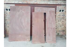 Ворота гаражные б \ у с коробками