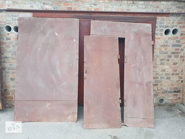 бу Ворота гаражные б \ у с коробками в Виннице