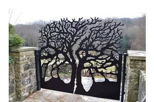 Ворота хвіртки огорожі