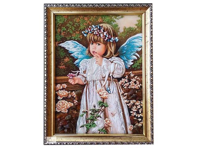 продам Янтарный ангелочек размером 15*20см бу в Ровно