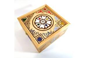 Ящик с крышкой Avatar Белый лотос 19,8х19,8х10,8 см Мастерская мистера Томаса Дерево Лак