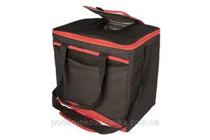 """Изотермическая сумка """"Collapse & Cool, Sport 36"""", 22 л, черная с красным"""