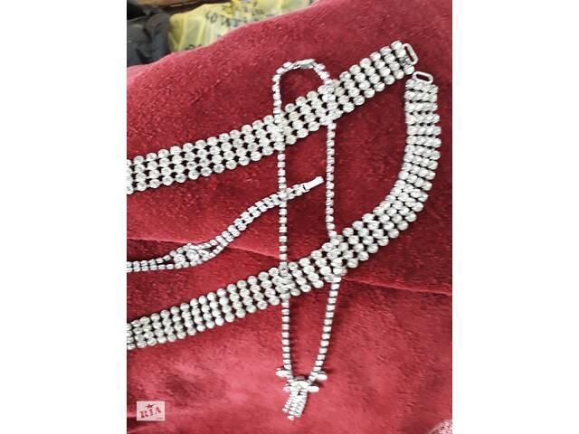 купить бу Пояс колье браслет, Чехословацкая бижутерия в Калуше