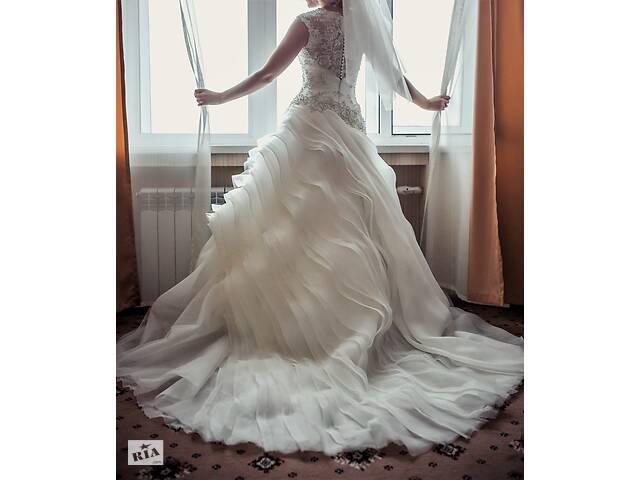 купить бу Весільна сукня - ніжний, розкішний і практичний дизайн в Києві