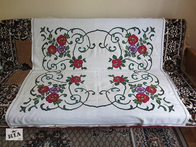 бу Весільні вишивані рушники, серветки і скатертина в Тернополі