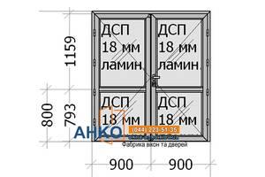 Алюминиевые двери межкомнатные для офиса, дома, помещения от производителя Фабрика АНКО
