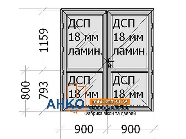 купить бу Алюминиевые двери межкомнатные для офиса, дома, помещения от производителя Фабрика АНКО  в Украине