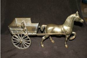 Антикварні бронзові статуетки