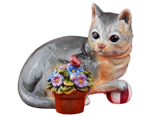 Статуэтка Кошка 19 см 59-129