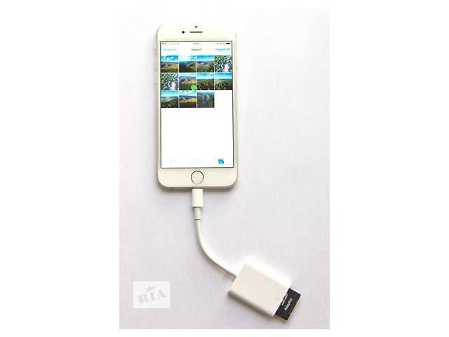 бу Apple lightning to Card Reader for iPhone\iPad кардридер SD card в Харькове