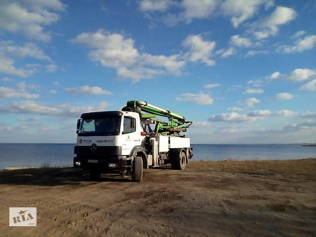 купить бу Аренда автобетононасоса  в Киевской области