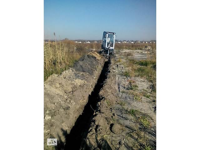 Аренда мини экскаватора- объявление о продаже  в Киевской области