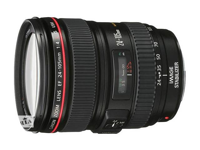 Аренда (прокат) Объектив Canon-24-105mm-f4-IS- объявление о продаже  в Киеве