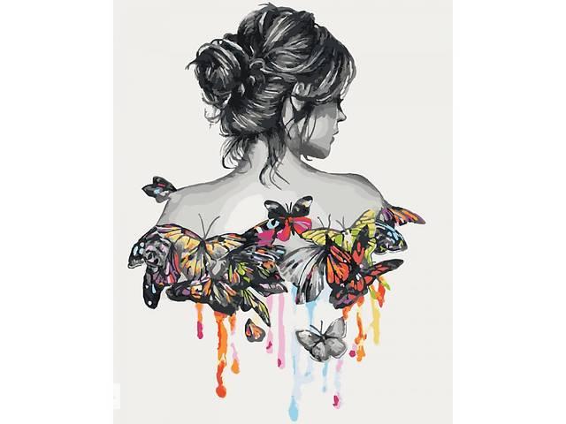 """бу Картина мо номерам. Люди """"Нежность бабочки"""" 40*50см * KHO2688 в Одессе"""