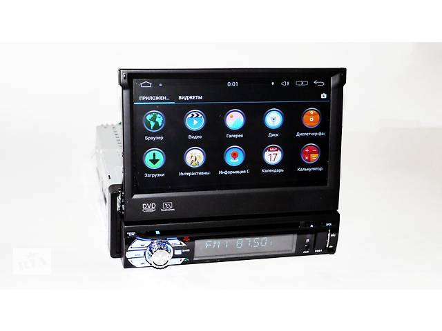 бу 1din автомагнитола Pioneer 9501 GPS, 4Ядра, 1/16Gb, Adnroid в Киеве