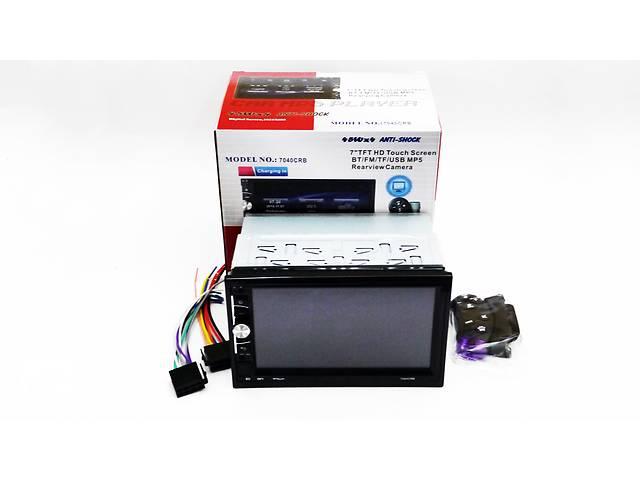 бу Автомагнитола 2din Pioneer 7040 USB, BT, SD пульт на руль в Киеве