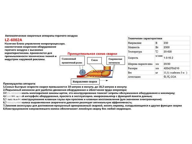 купить бу автомат для сварки пвх тентовых и банерных тканей в Одессе