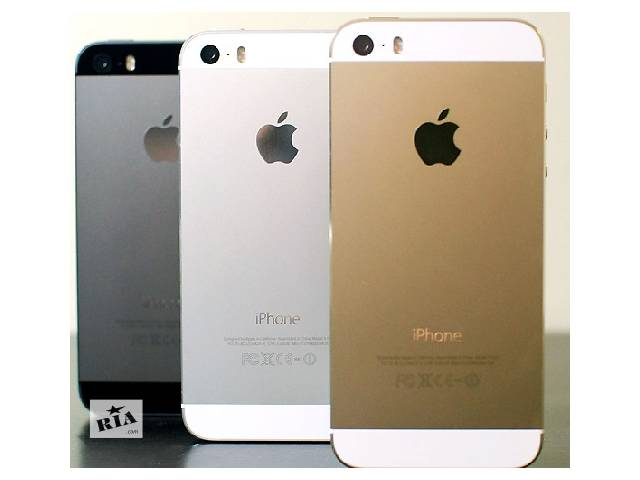 купить бу Айфон 5 S, 1сим,тепловой дисп 4«,качественная реплика.Черный,Белый,Золотой в Одессе