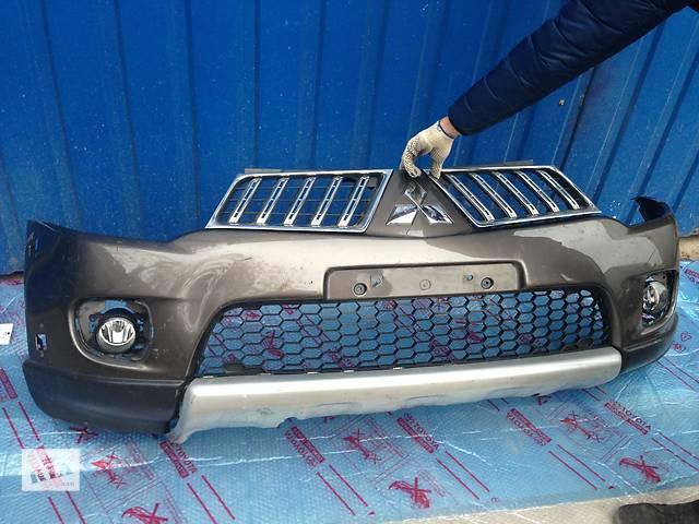 купить бу Б/у Бампер передний Mitsubishi Lancer в Киеве