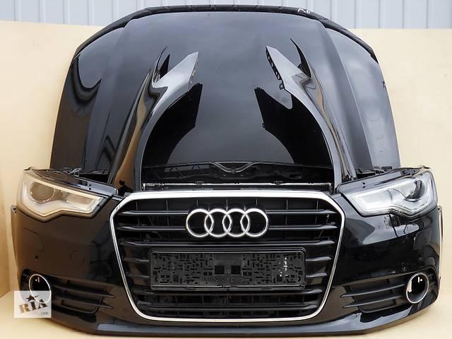 купить бу Б/у бампер передний, задний, капот, фары, радиаторы, крылья, двери, стекло для Audi Audi A6 С6 C7 в Киеве