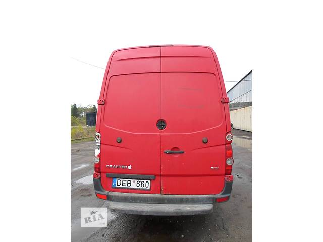 Б/у Бампер задний для автобуса Volkswagen Crafter Фольксваген Крафтер 2.5 TDI 2006-2010- объявление о продаже  в Рожище