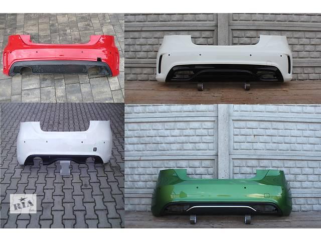 бу Б/у бампер задний для легкового авто Mercedes A-Class w176 12- в Львове