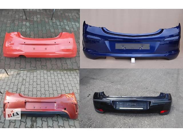 купить бу Б/у бампер задний для легкового авто Opel Corsa в Львове