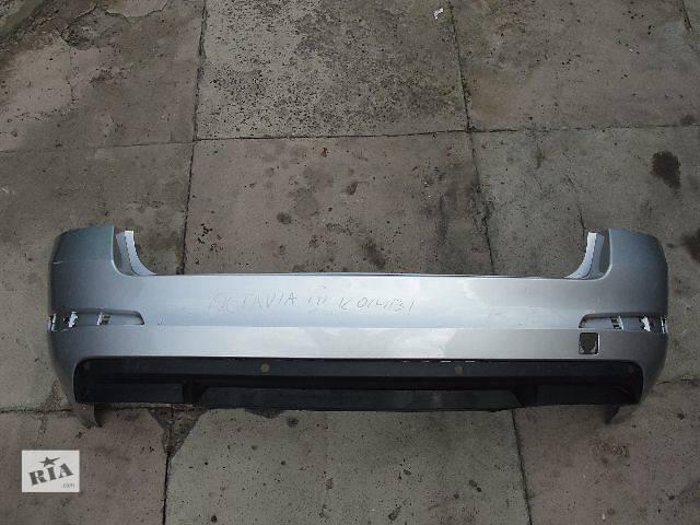 продам Б/у бампер задний для легкового авто Skoda Octavia A7 Combi NEW ДЕШЕВО В НАЛИЧИИ!!! бу в Львове