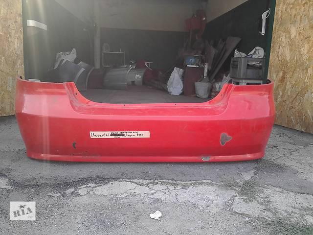 продам Б/у бампер задний для седана Chevrolet Aveo (gm 96648654) бу в Никополе (Днепропетровской обл.)