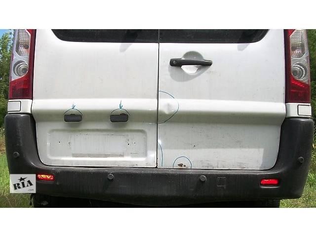 продам Б/у бампер задний Пэжо Эксперт Пежо Експерт Peugeot Expert III с 2007- бу в Ровно